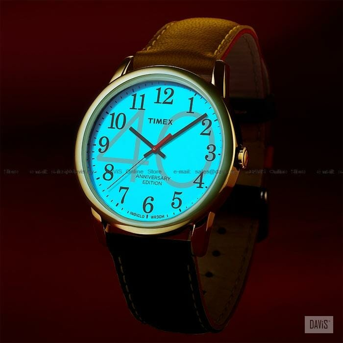 timex easy reader 40th Anniversary Indiglo