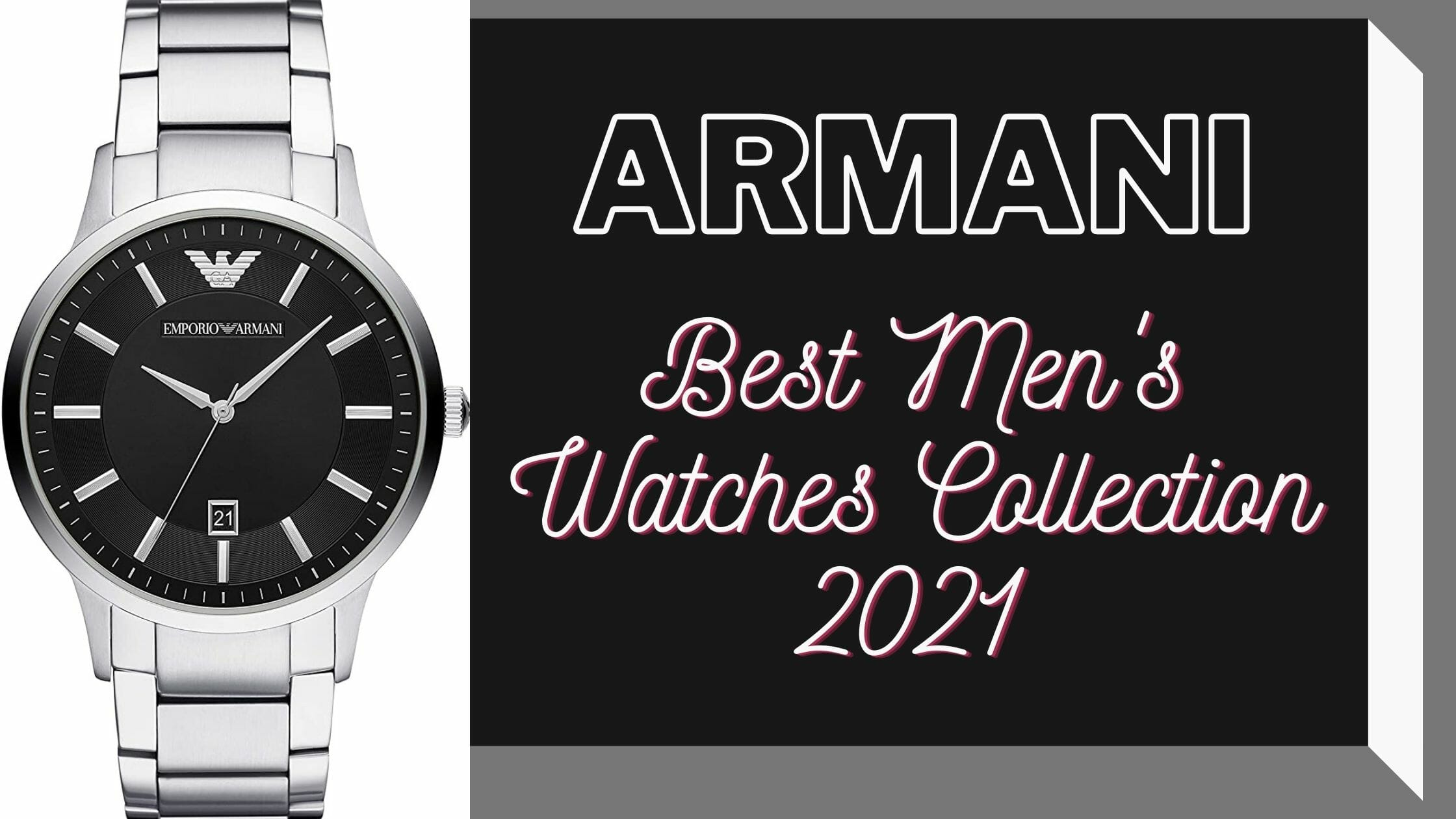 Best Armani Watches for Men's in 2021