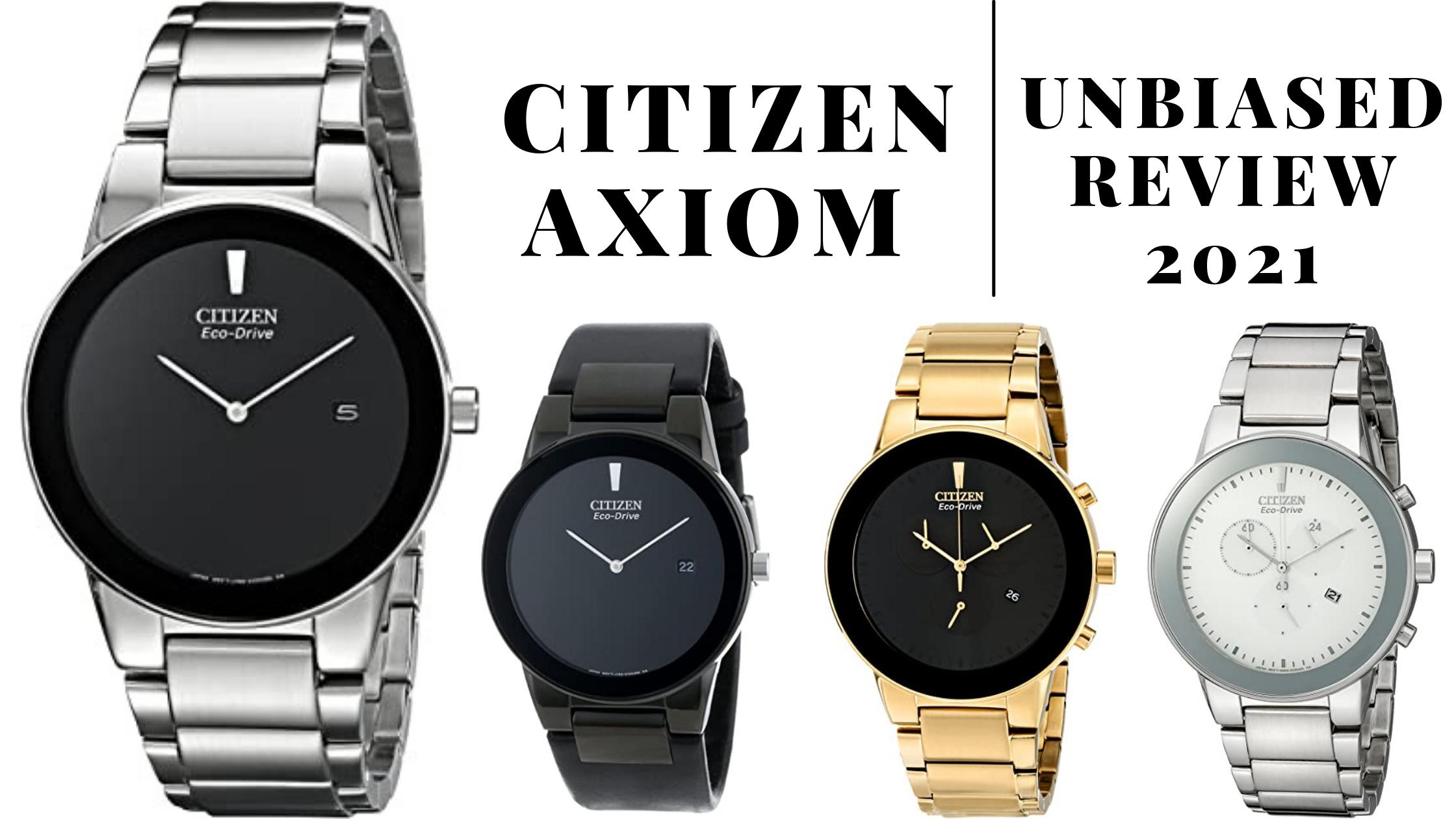 Citizen Axiom Watch Review
