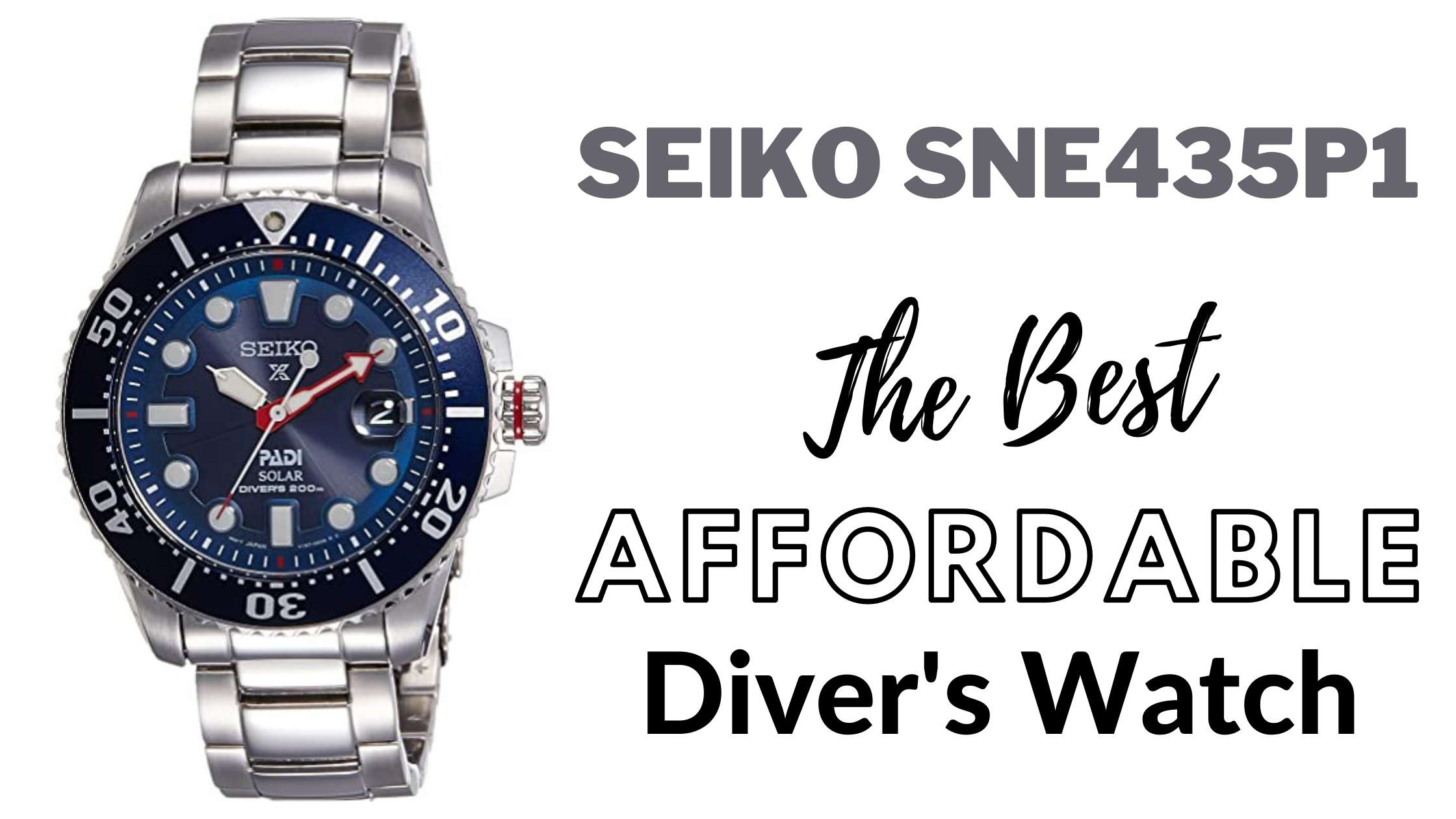 Seiko SNE435P1 Watch Review