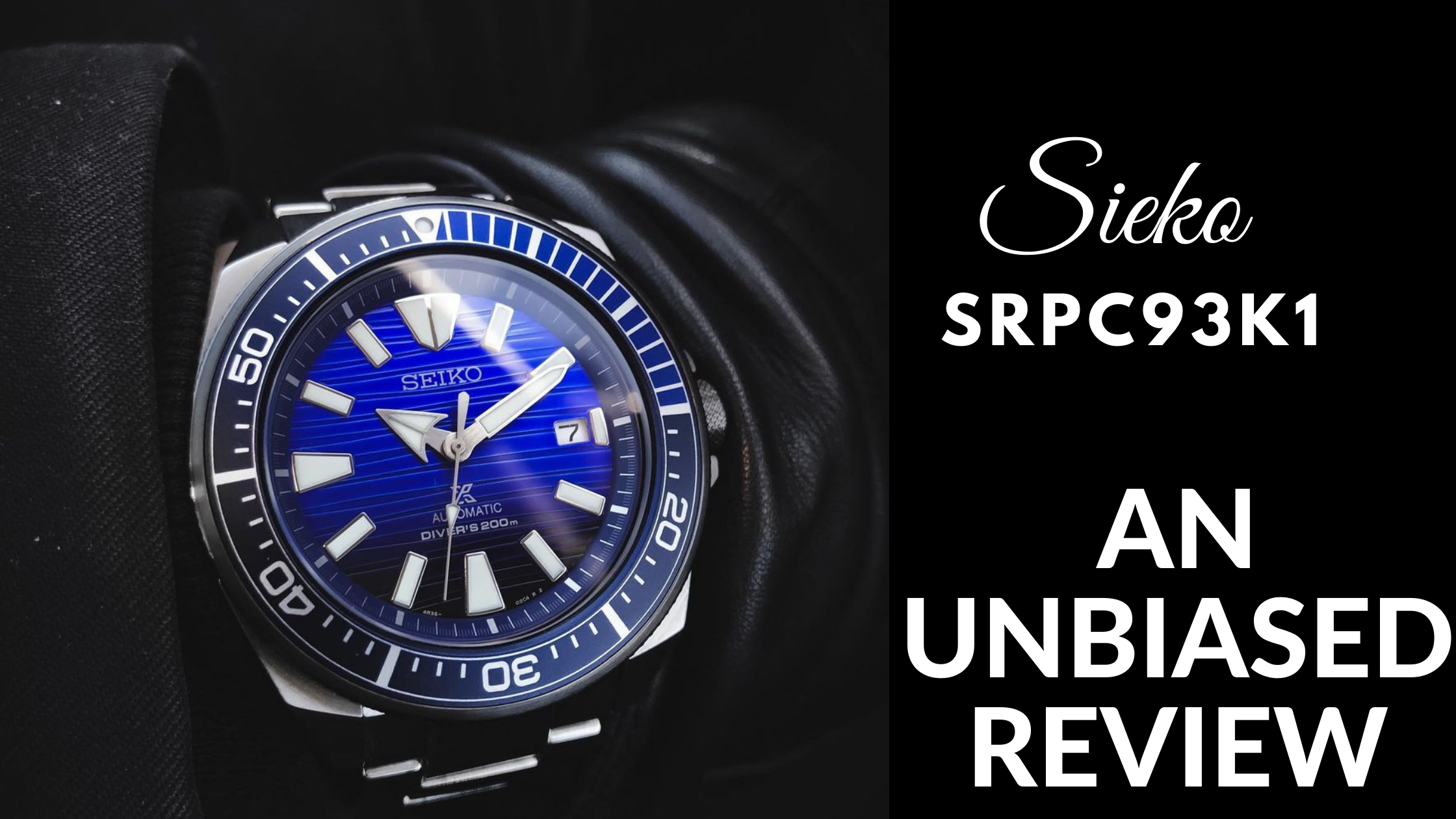 Seiko SRPC93K Watch Review