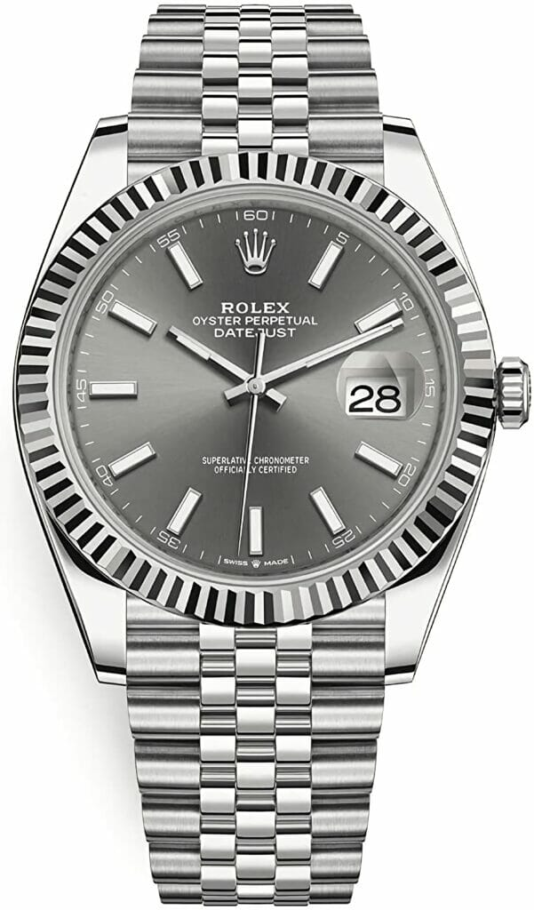 Rolex Oyster Perpetual Datejust Watch-datejust 41 mm