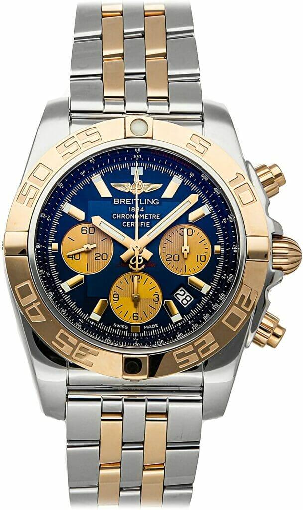 Breitling Chronomat Mechanical (Automatic) Blue Dial Men's Watch CB0110121C1C1