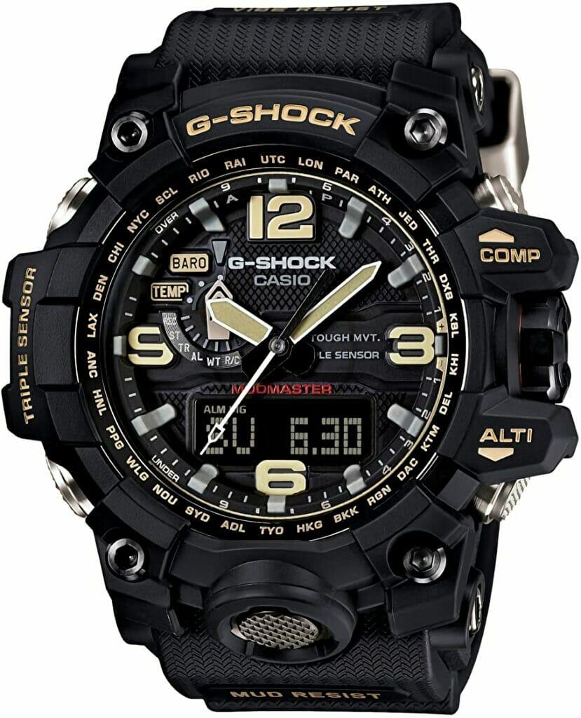 Casio G-Shock Mudmaster Men's Watch (Black)   Men's Digital Sports Watch:
