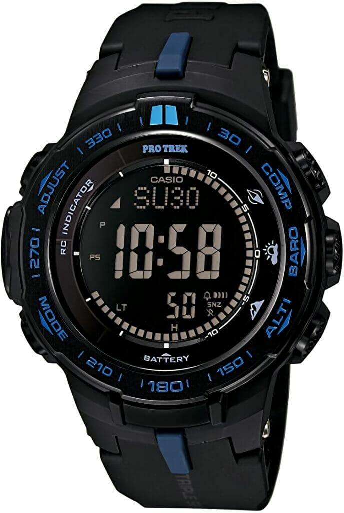 Casio PROTREK Slim Line Series Solar Multiband 6 Triple Sensor Ver.3 Men's Watch PRW-3100Y-1JF