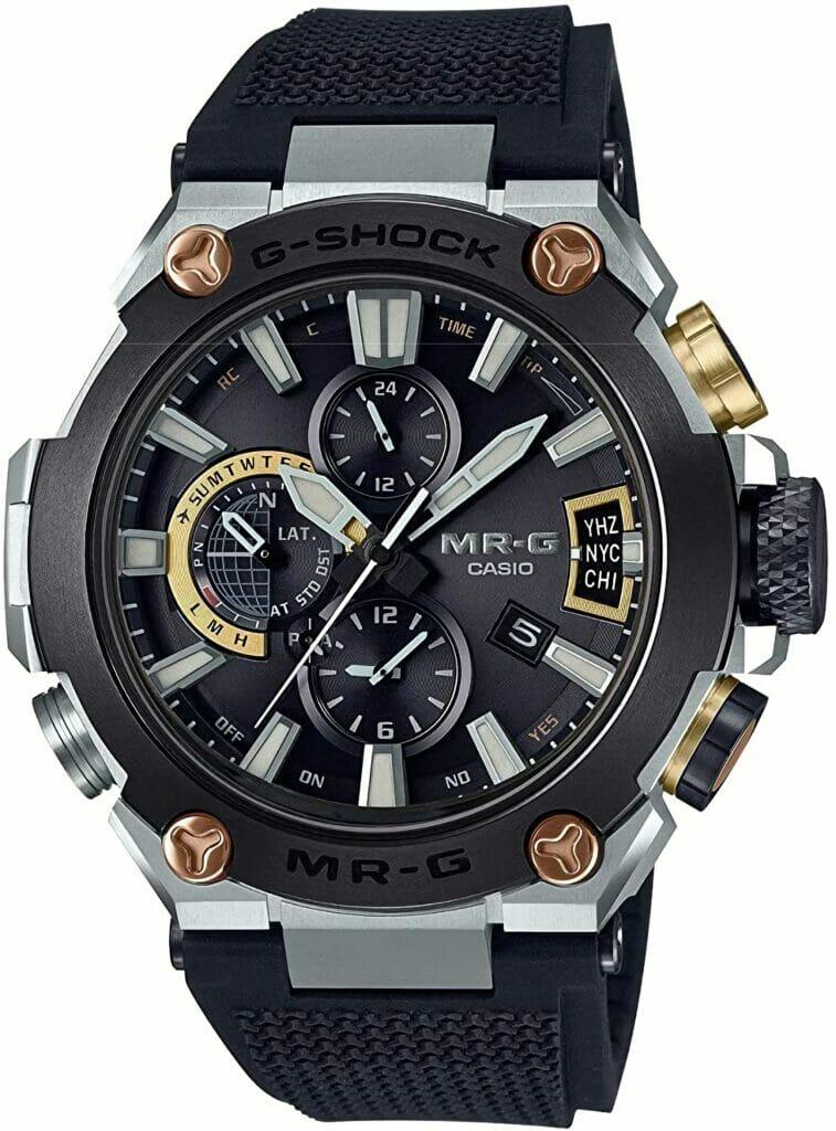 Casio Sports Watch Mr-G Ble 'Fluoro', Black (MRG-G2000R-1A)   Review Of Men's Digital Sports Watch